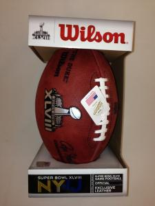 Super Bowl 48 Football Official Game Model by Wilson