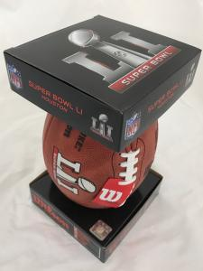 Super Bowl 51 footballs