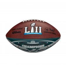 Eagles Super Bowl 52 Champions Commemorative Color Football