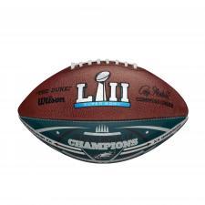 Eagles Super Bowl 52 Champions Commemorative Color Football