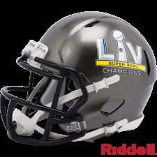 Super Bowl 55 Champions Buccaneers Speed Mini Helmet by Riddell