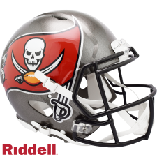 Super Bowl 55 Buccaneers Speed Authentic Helmet by Riddell