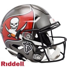 Super Bowl 55 Champions Buccaneers SpeedFlex Authentic Helmet by Riddell
