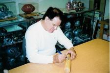 "Pete Rose Autographed Louisville Slugger Natural Bat signed ""Hit King 4256, 63ROY, 73MVP & 75WS MVP"" Image"