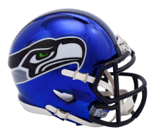 Seahawks Chrome Mini Helmets