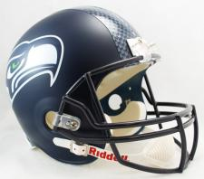 Seattle Seahawks Helmet Current Deluxe Replica Full Size by Riddell