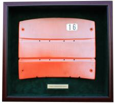 Candlestick Park Seatback Display Case