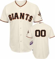 San Francisco Giants Jersey Authentic Home Ivory by Majestic