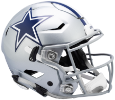 Cowboys SpeedFlex Helmet