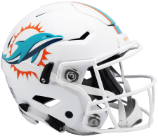 Dolphins Speed Flex Helmets