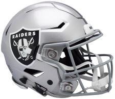 Raiders Speed Flex Helmets