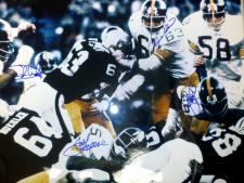Steel Curtain Autographed Photo 16x20