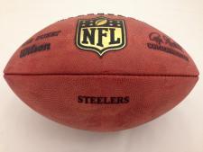 NFL Team Issued Game Model Football Steelers