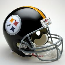 Pittsburgh Steelers Helmet 1963-76 Deluxe Replica Throwback Full Size by Riddell