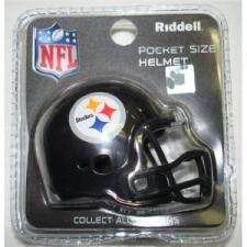 Pittsburgh Steelers Revolution Pocket Pro Helmet by Riddell