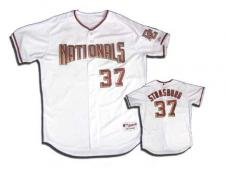 Stephen Strasburg Nationals Authentic Baseball Jersey by Majestic