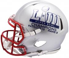 Super Bowl 53 Champions Patriots Speed Authentic Helmet by Riddell