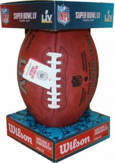 Super Bowl LV Footballs