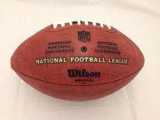 Team Issued NFL Game Model Footballs Back