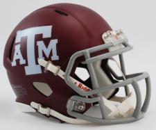 Texas A & M Aggies Current Speed Mini Helmet by Riddell