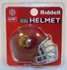 USC Trojans Pocket Pro Helmets by Riddell