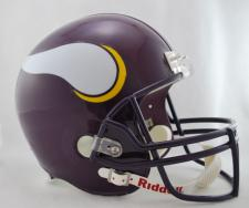 Minnesota Vikings Helmet 1983-01 Deluxe Replica Full Size by Riddell
