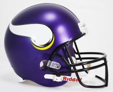 Minnesota Vikings Helmet 2013 Deluxe Replica Full Size by Riddell