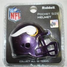 Minnesota Vikings Revolution Pocket Pro Helmet by Riddell