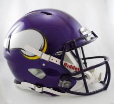 Minnesota Vikings Helmet Riddell Speed 2006-2012