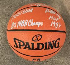 Walt Frazier Signed Basketball