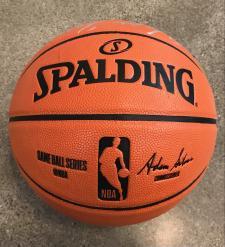 Walt Frazier Signed Basketball side