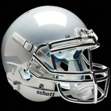 White Chrome Helmet