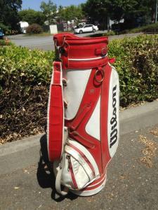 Joe Montana Golf Bag - back