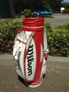 Joe Montana Golf Bag - side