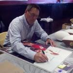 49er Dwight Clark Signing for NSD in San Francisco