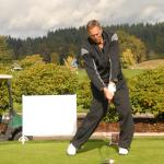 Dwight Clark Golfing for 49er Faithful Portland, OR Chapter