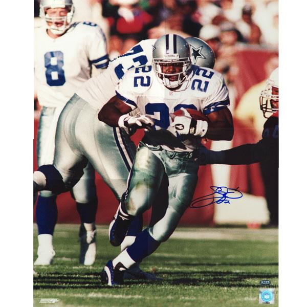Emmitt Smith Dallas Cowboys 16x20 #1124 Autographed Photo | Sports ...: nationalsportsmemorabilia.com/emmitt-smith-dallas-cowboys-16x20...