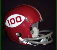Alabama Crimson Tide 1969 (100th Anniversary of NCAA Football) College Throwback Full Size Helmet by Helmet Hut Image