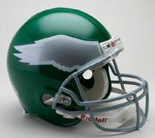 Philadelphia Eagles Helmet 1974-95 Throwback Pro Line by Riddell