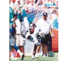 Chris Chambers Miami Dolphins 8x10 #73 Autographed Photo Image