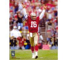 Joe Montana San Francisco 49ers 8x10 #215 Autographed Photo
